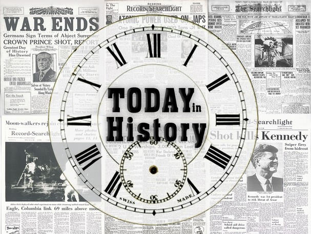 Today's date in history