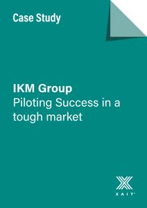 IKM Group – Piloting Success in a tough market