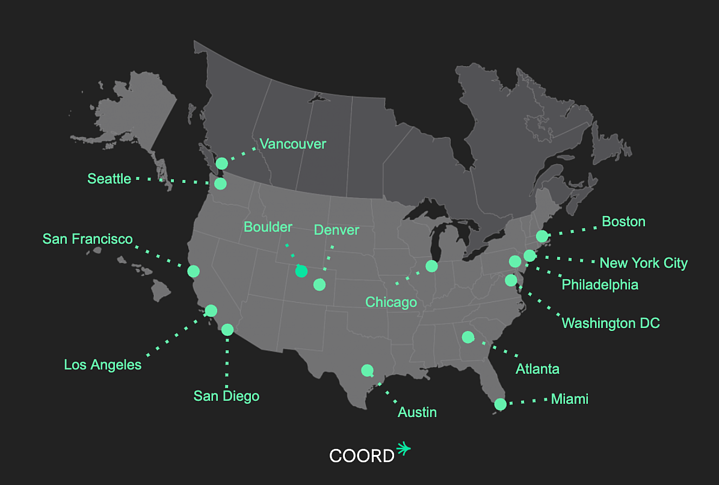 The Digital Curb debuts in five new cities across North America