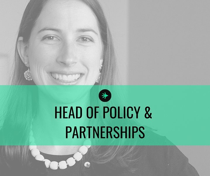 Coord is welcoming a Head of Policy & Partnerships