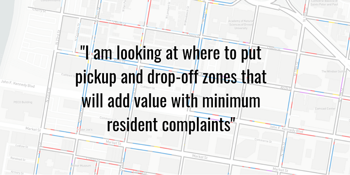 Adding loading zones without overly affecting a neighborhood's parking supply