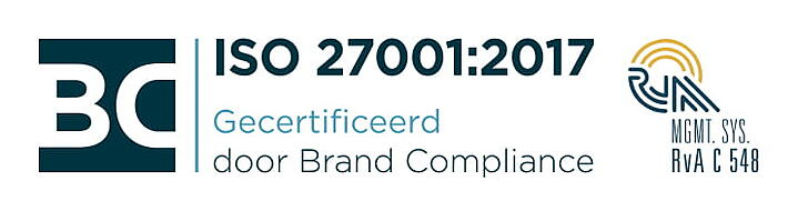 Axxemble behaalt ISO 27001 certificering