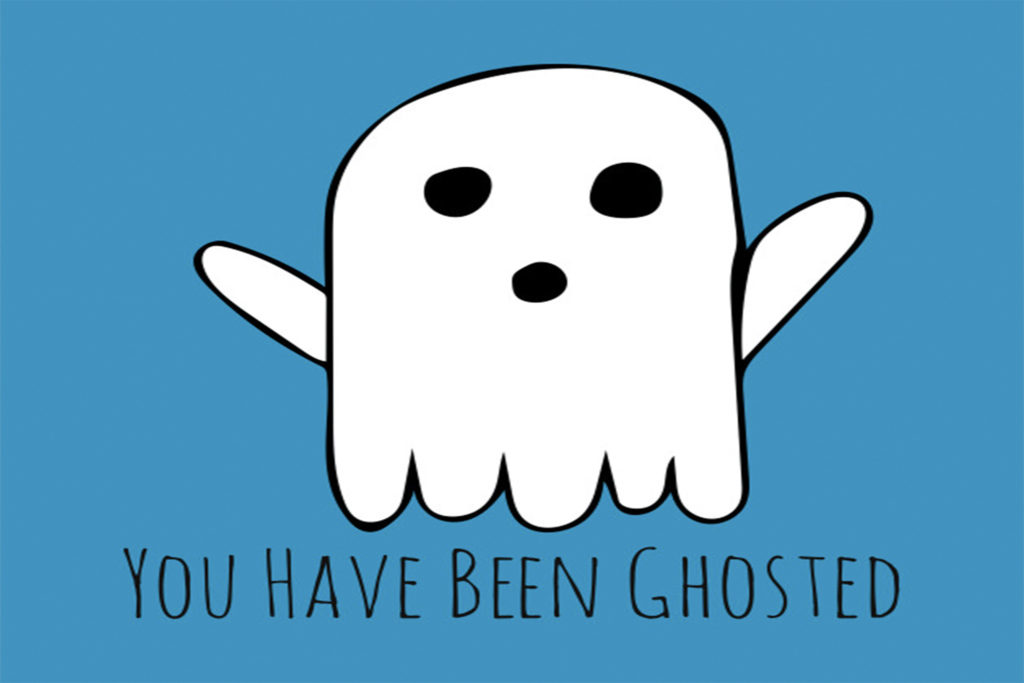 You've been ghosted by a prospective customer, now what?