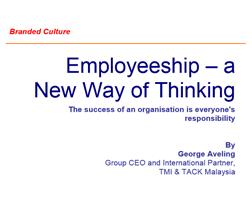 Employeeship – a New Way of Thinking