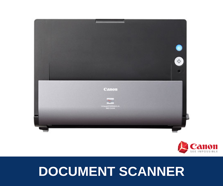 Canon imageFORMULA DR-C225 Brochure