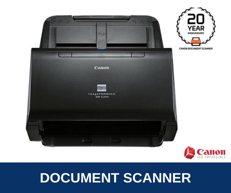 Canon imageFORMULA DR-C240 Brochure