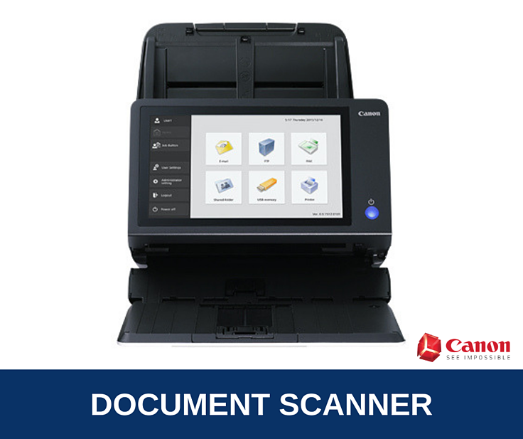 Canon imageFORMULA ScanFront 400 Brochure