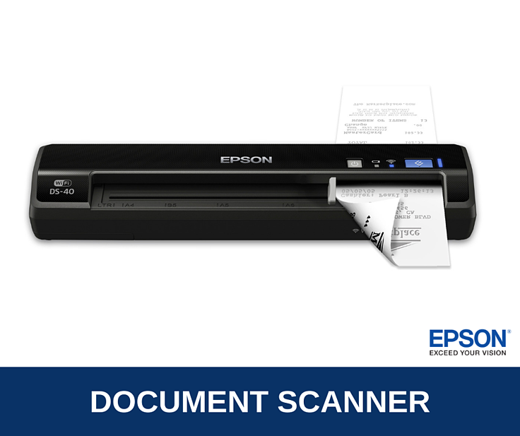 Epson WorkForce DS-40 Brochure