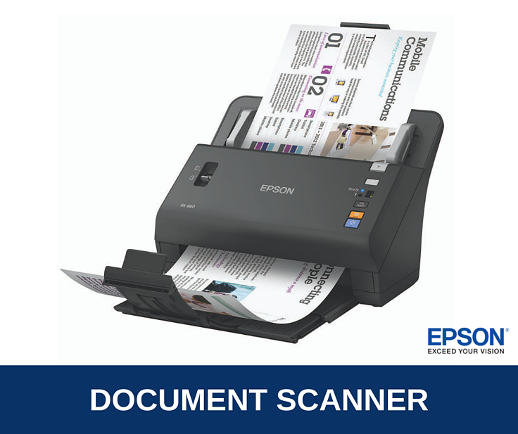 Epson WorkForce DS-860 Brochure