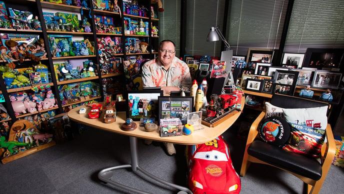 Resiliencia: La Historia de Crecimiento Empresarial de Pixar
