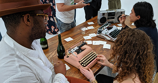 Poetry on Typewriters at Events27