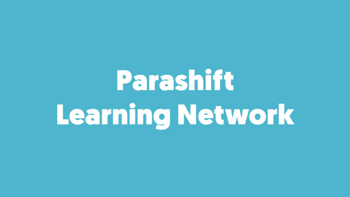 Standard Document Types and the Parashift Learning Network
