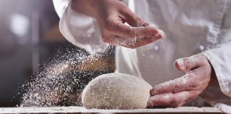 Allergen food management for baking industry