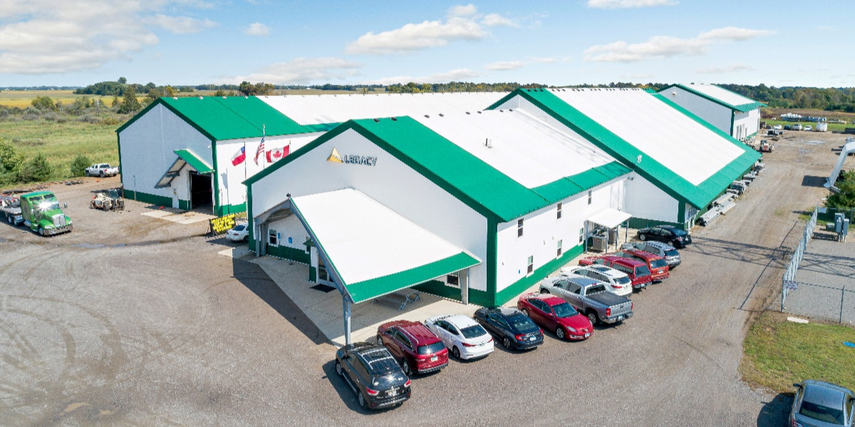 History of Tension Fabric Buildings - Legacy Headquarters