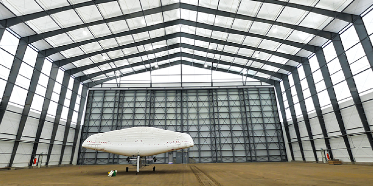 Aviation Hangar - Tension Fabric Building - Legacy Building Solutions