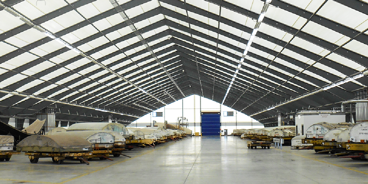 Automotive Industry - Fabric Buildings - Storage