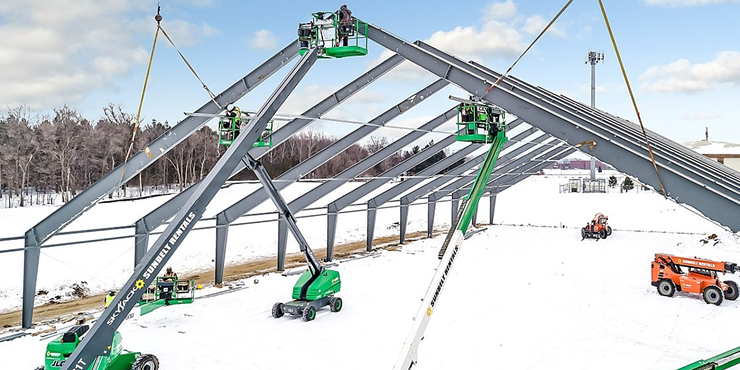 2020 - Rigid Steel Frame - Tension Fabric Building - Legacy Building Solutions