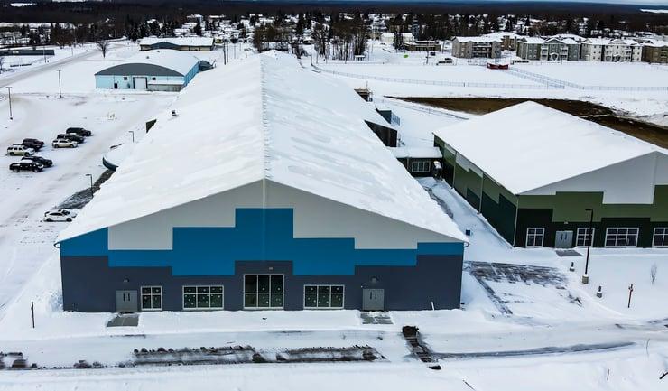 Fox Creek Sports Multiplex--Aerial