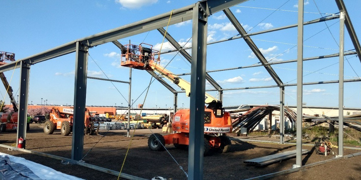 Rigid Frame - Tension Fabric Building
