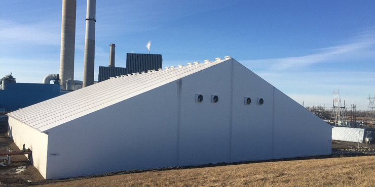 Fabric Buildings for Remediation