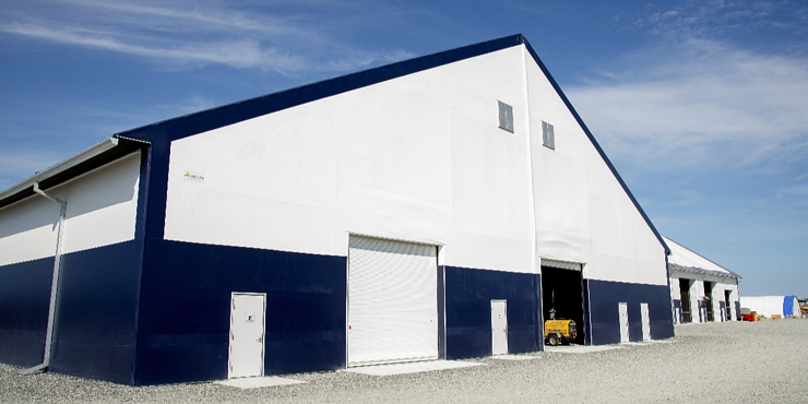 Legacy Building Solutions Provides Two Fabric Buildings for Keeyask Generating Station