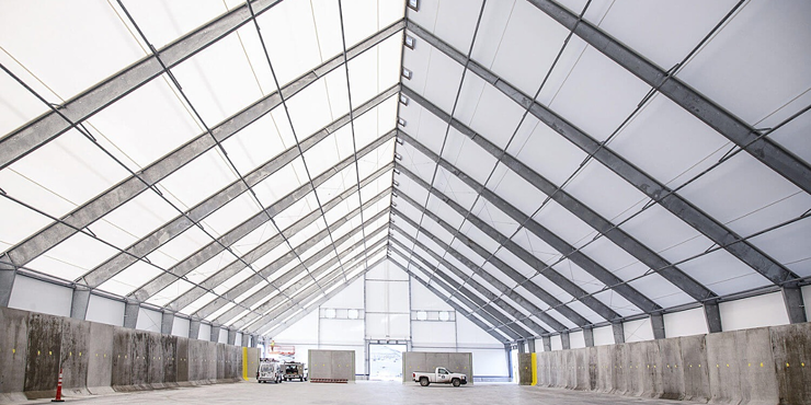Natural Light has Several Advantages in Fabric Buildings