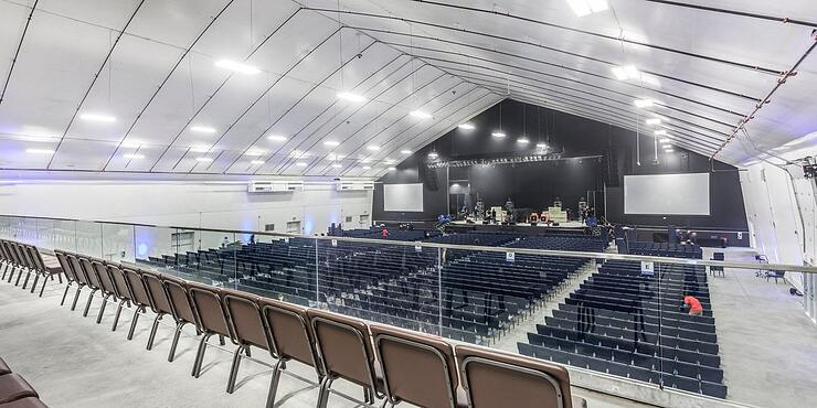 Entertainment Venues that Save Money - Tension Fabric Building - Legacy