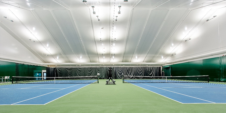 Tension Fabric Tennis Facility - Year Round Practice Facility - Legacy Building Solutions