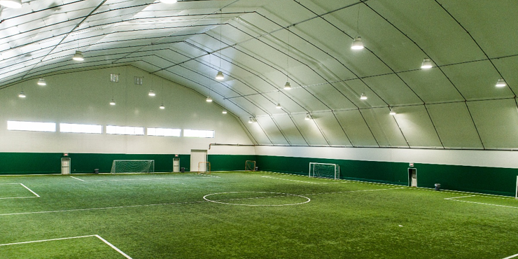 Tension Fabric - Rigid Steel Frame - Legacy Building Solutions - Athletic Facilities