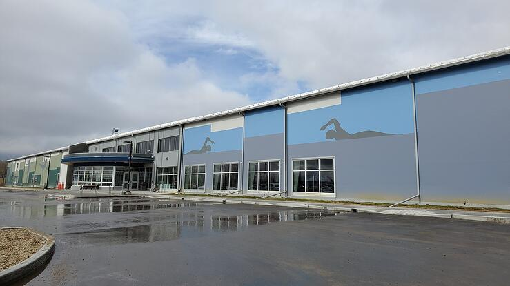 Fox Creek Sports Multiplex In Alberta