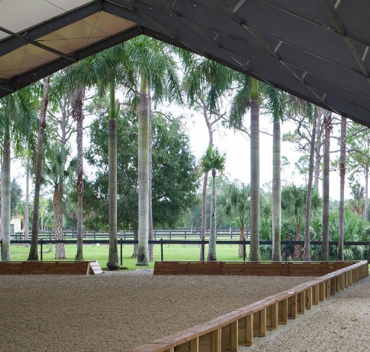 Silver Drache Riding Arena in Florida