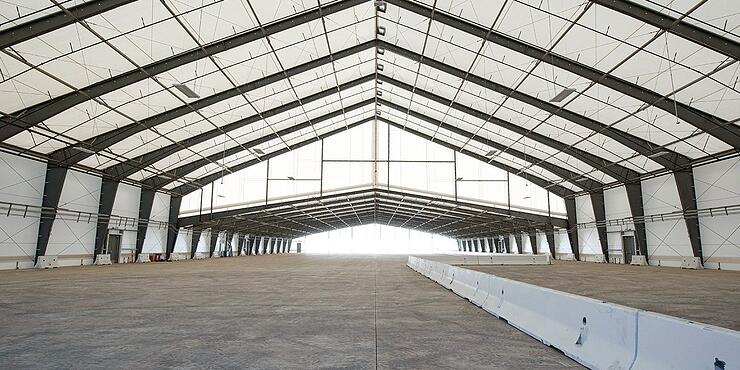Tension Fabric Airport Storage Buidings - Airport Improvement Magazine