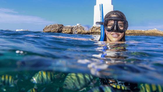 Snorkel at El Farito Isla Mujeres