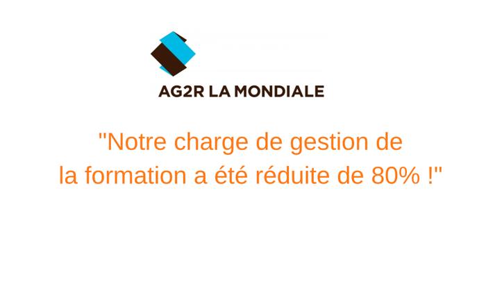 AG2R La Mondiale : une gestion de la formation innovante pour plus d'efficacité.