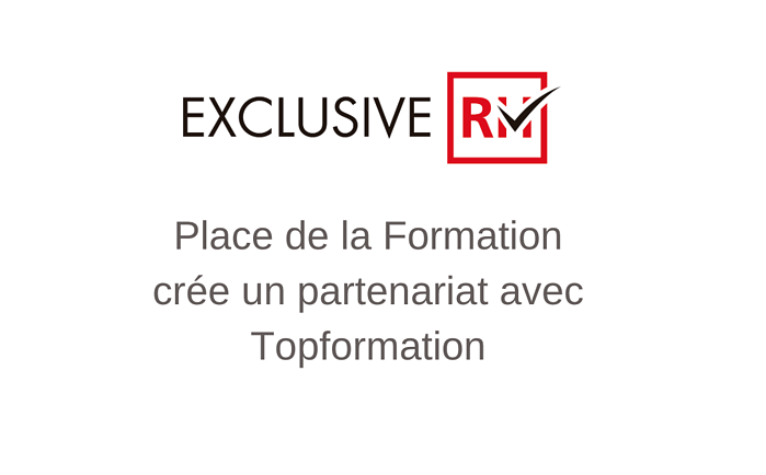 Place de la Formation crée un partenariat avec Topformation
