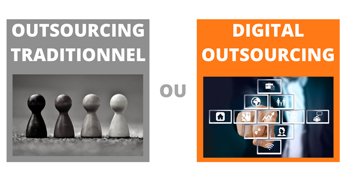 Outsourcing de la formation traditionnel ou digital outsourcing ?