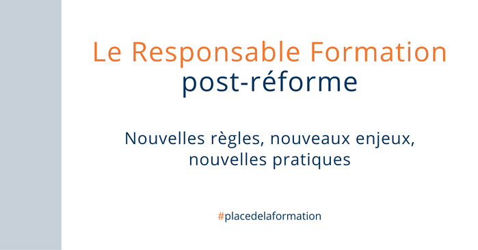 Le Responsable Formation post réforme
