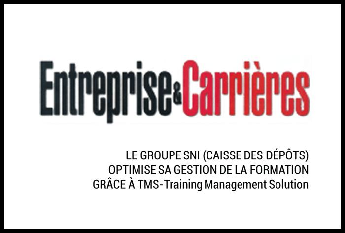 Le groupe SNI – Caisse des Dépôts – optimise sa gestion de la formation