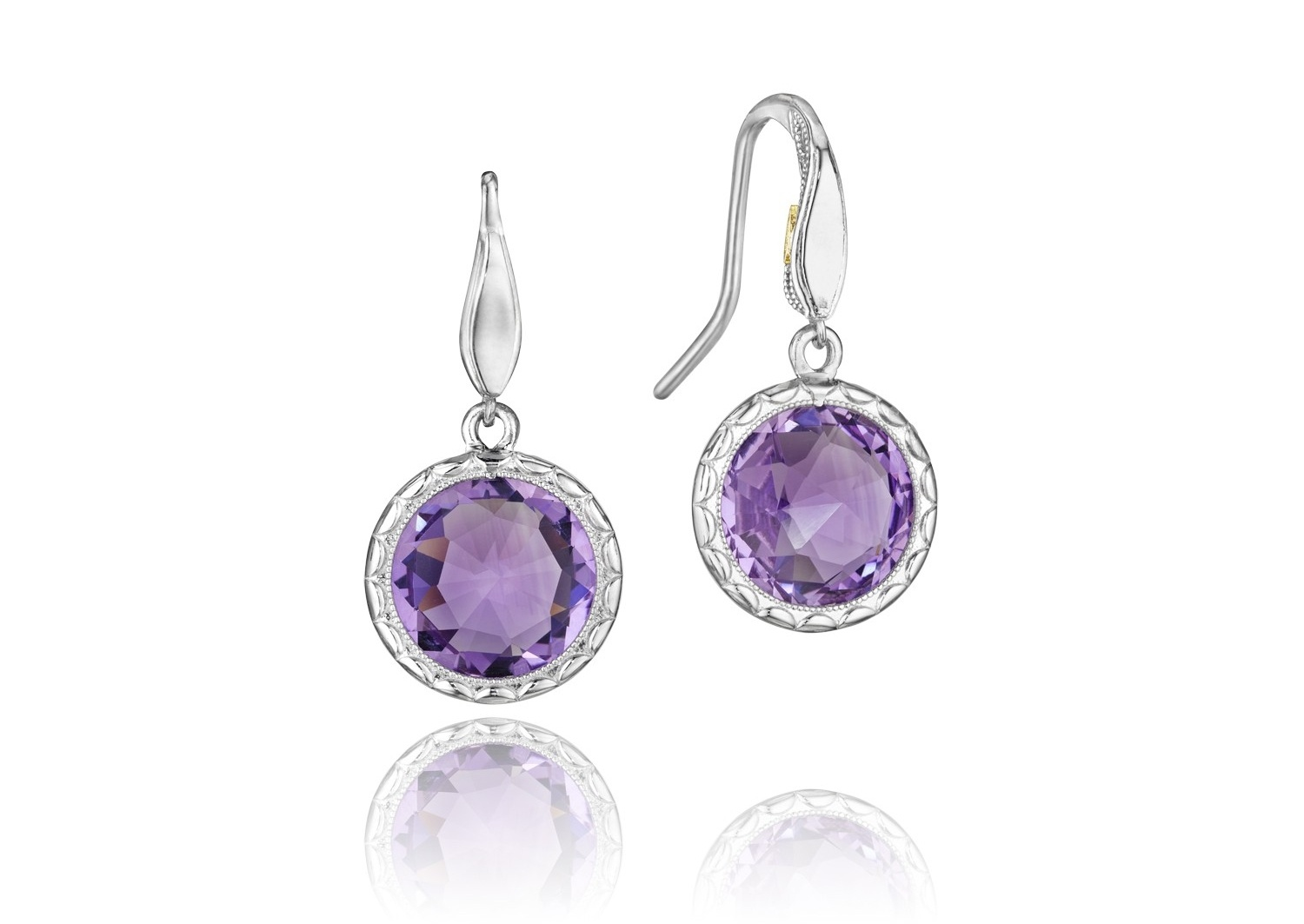 Tacori Lilac Blossoms Simply Gem Drop Earrings - Style SE15501