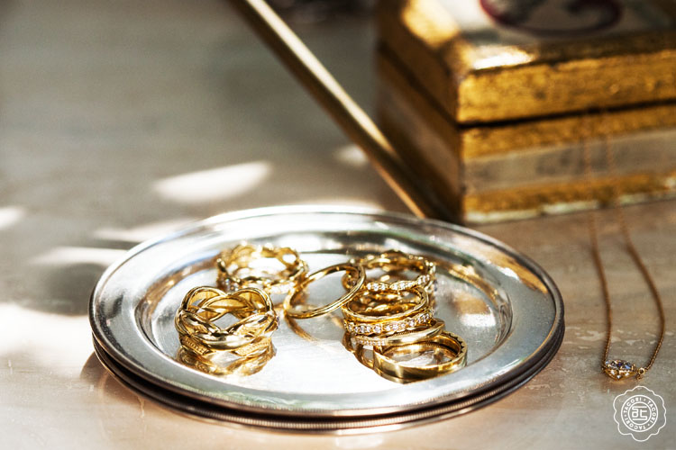 9 Gold Tacori Wedding Bands for the Bride and Groom