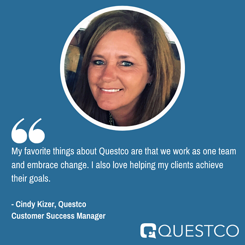 Questco Employee Spotlight: Cindy Kizer