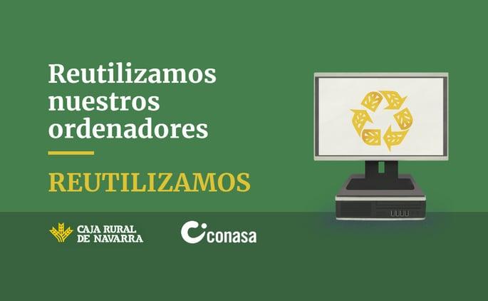 """<span id=""""hs_cos_wrapper_name"""" class=""""hs_cos_wrapper hs_cos_wrapper_meta_field hs_cos_wrapper_type_text"""" style="""""""" data-hs-cos-general-type=""""meta_field"""" data-hs-cos-type=""""text"""" >Conasa colabora con Caja Rural en la campaña """"Reutilizamos""""</span>"""