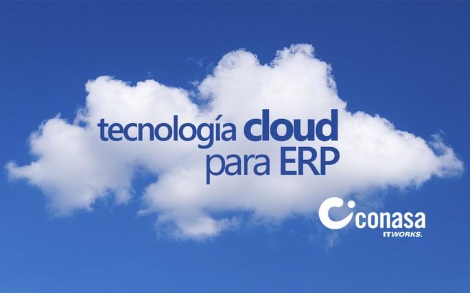 La tecnología cloud para los ERP