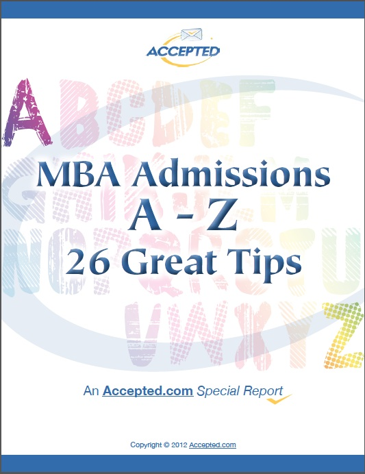 MBA Admissions A-Z