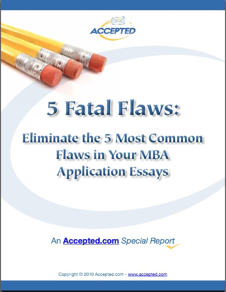 MBA 5 Fatal Flaws