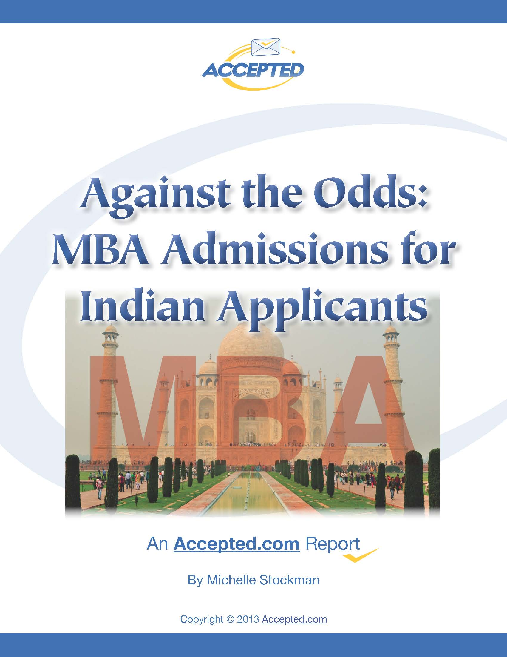 MBA Admissions for Indian Applicants