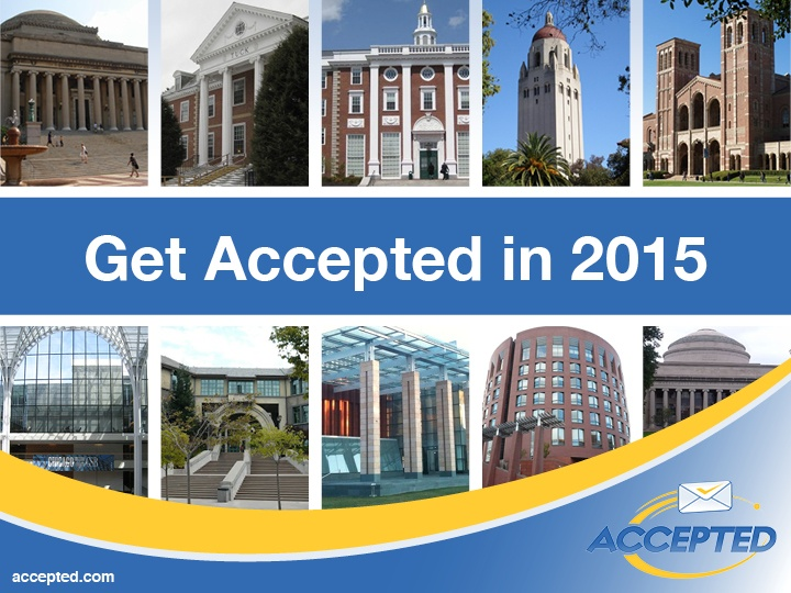 Get Accepted in 2015