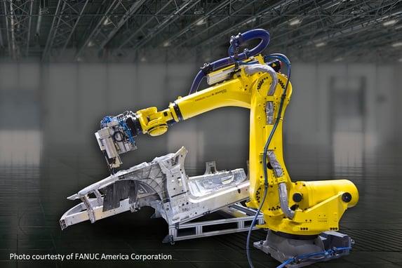 FANUC robot drill