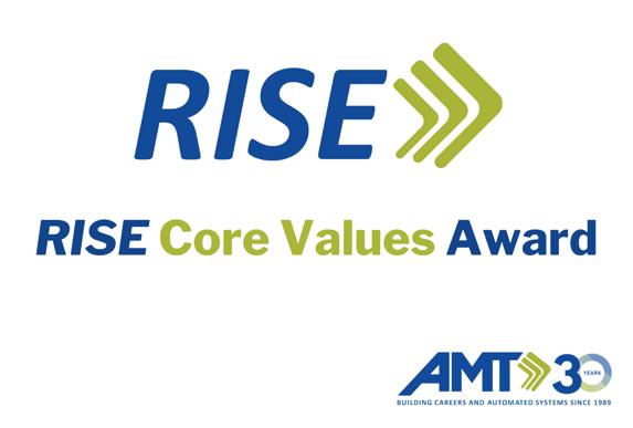 AMT RISE Core Values Award