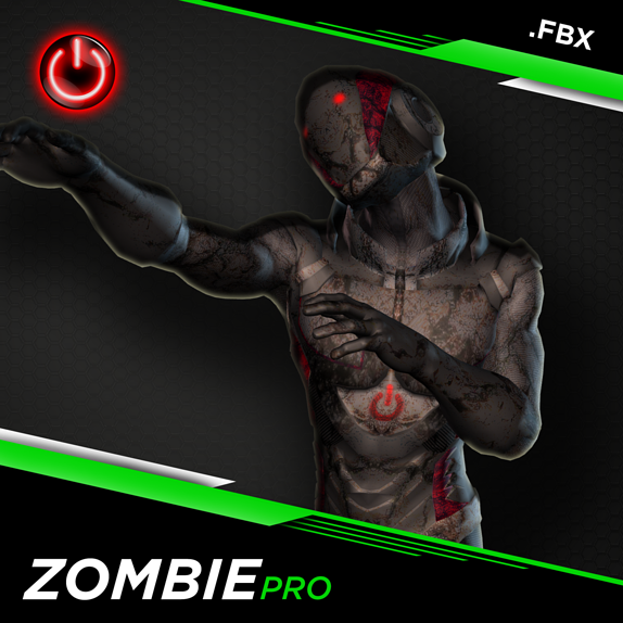 NEW 3D Zombie Animations for Game Development and CG Production Blog Header